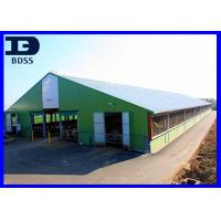 Quality Painted Frame Light Steel Structure Warehouse with Sandwich Panels wholesale