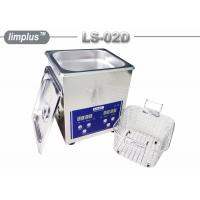 Quality Bentch Top Stainless Steel 2liter Ultrasonic Cleaner Bath Household Use Sterilize wholesale