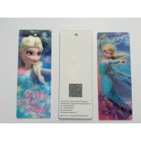 Quality 3D Lenticular Personalised Bookmarks For Schools , Bookmark Printing Services wholesale