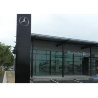 Quality Mercedez Benz Car Showroom Building Steel Structure With 50 Years Lifespan wholesale