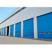Quality Industrial High Speed Sectional Garage Doors Safe 40mm Insulated Sandwich Panel wholesale