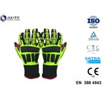 Quality Rescue PPE Safety Gloves , Metal Safety Gloves TPR Material Wear Resistant wholesale