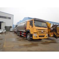 Quality 16CBM Bitumen Distribution Tanks Trucks And Trailers Howo 10 Wheel Three Insulation Layers wholesale