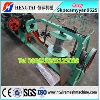 Double Twisted Barbed Wire Making Machine Manufacturer