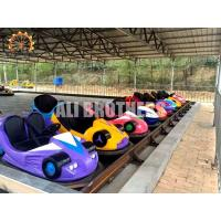 Quality Ground Net Carnival Bumper Cars , Popular Amusement Park Car Rides wholesale