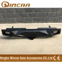Quality Standard Size Steel Rear Bumper For Hilux Revo 2015-2018 Black Color wholesale
