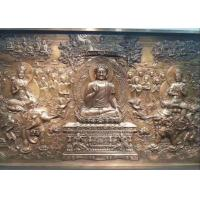 Quality Public Decorative Metal Bronze Relief Sculpture 350cm X 150cm Weather Resistance wholesale