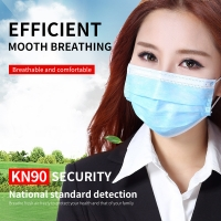 Quality Printing Disposable Mouth Earloop 3 Ply Face Mask wholesale