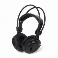 Buy cheap IR Dual-channel Wireless Headphone with Stereo Audio Mode and 10m Effective from wholesalers