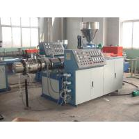 China Soft PVC Braided Hose Pipe Making Machine , Plastic PVC Pipe Production Line on sale