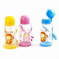 Quality Kid's Water Bottles, Made of Plastic, Suitable for Promotional Gifts, BPA-free wholesale