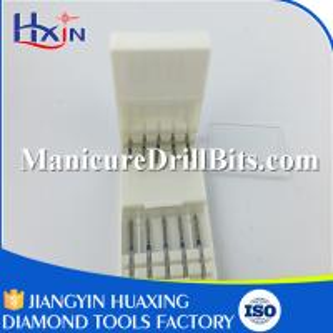 High Speed Medium Grit Diamond Dental Drill Bits Round / Needle Shape