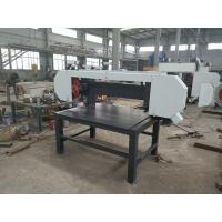 Buy cheap Wood Machine Pallet Dismantler / Pallet Dismantling Horizontal Band Sawmill from wholesalers