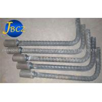 Quality Welded Couplers Threaded Rebar Coupler , Steel Bar Connecting Coupler Connectors wholesale