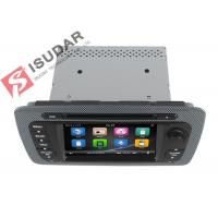 Cheap Classic Sepecial Frame 6.2 Inch Seat Ibiza Dvd Player , Car Dvd Multimedia Player 3G for sale