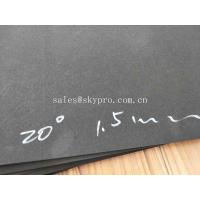 Quality Shockproof Closed Cell Black EVA Foam Sheets 1.5mm Non - Toxic Glossy Surface wholesale