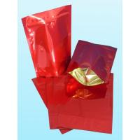 Quality Glossy Plain Red Foil Pouch Packaging Stand Up For Coffee Bean wholesale
