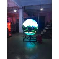 Quality SMD P4 Indoor Full Color Sphere Led Display Curved Led Panel Ball Shaped wholesale
