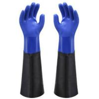 China Food Industry PVC Work Gloves Designed For Easy Movement And Continuous Wear on sale