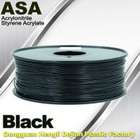 Quality Anti Ultraviolet ASA UV 3D Printer Filament 1.75 / 3.0mm 3d Printing Filament wholesale