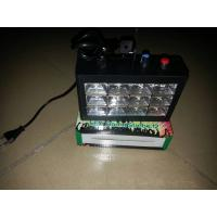 Quality 12PCS 3w RGB Three Colors LED Strobe Stage Light Sound Control Black / White Case wholesale
