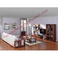 Cheap Solid Wooden Frame with Fabric Sectional Sofa in Home Furniture Set for sale
