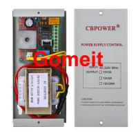 Cheap Electromagnetic Lock Power Supply , 12 Volt 5 Amp Door Access Power Supply 50Hz for sale