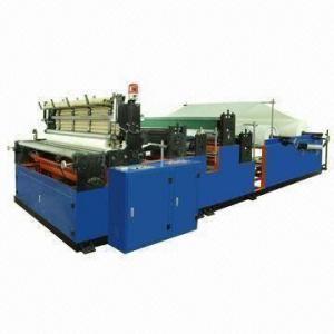 Quality Automatic Rewinding/Perforating Toilet Paper Machine, Kitchen Towel Machine wholesale