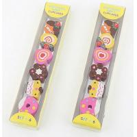 Quality Fancy Candy Erasers, Cheap Promotional Funny Eraser Set wholesale