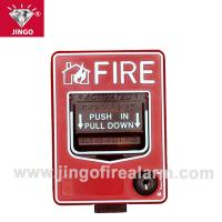 China Conventional fire alarm 24V two wire bus manual call point,reset(break glass) on sale