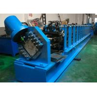 Quality Manually Adjustable Cold Roll Forming Machine , 80 - 250mm C Purlin Roll Former wholesale