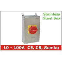Quality Stainless Steel Isolator Switch 3 Pole wholesale