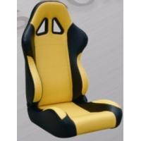 Quality Comfortable Black And Yellow Racing Seats , Custom Racing Seats For Cars wholesale