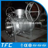China fixed ball flange ball valve wenzhou on sale