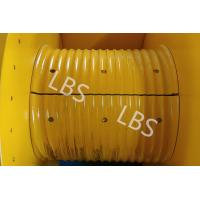 Quality Hydraulic Winch Drum With Rope Groove Lebus Sleeves 20KN 30KN 50KN wholesale