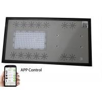 Quality IP65 All In One Solar Street Light With Blue Strip , Smart Mobile Phone App Control wholesale