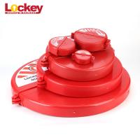 Quality Red Security Durable Polypropylene ABS Safety Lock Gate Valve Lockout Tagout wholesale