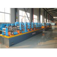 Quality High Frequency Welding ERW Pipe Mill , Carbon Steel Tube Making Machine wholesale