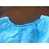 China Heavy Duty PE Plastic Shoe Covers Disposable Polyester Material Waterproof on sale