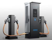China DC Fast Electric Car EV charger station 60kW with GB/T connector on sale