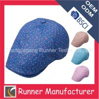 Quality Customed Peaked Blue Ivy Cap Wholesale wholesale