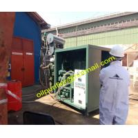 China Used Transformer Oil Purifier Machine,Oil Purification System, Oil Reclamation Plant on sale