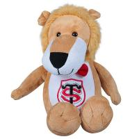 Quality 12 Inch Soft Plush Stuffed Animals Lion Shape Embrodiery / Sewing Craft wholesale