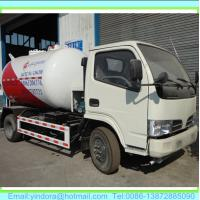 China mobile dispenser lpg gas tank truck dongfeng on sale