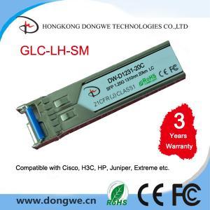 China GLC-LH-SM= CISCO SFP MINI-GBIC TRANSCEIVER MODULE - 1000BASE-LX, 1000BASE-LH on sale