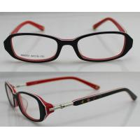 Cheap Pink / Black / Deep Red Optics Eyeglass Frames by Hand Made , Full Rim for sale