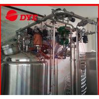 Quality Automatic Stainless Steel Cip Washing System , Beverage Machinery Gas Heating wholesale