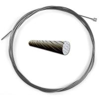 Quality Smooth Surface Bike Gear Cable, Stainless Steel Wire Cable 1960MPA Tensile Strength wholesale