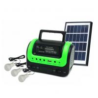 Quality 5W Portable Solar Home Lighting System Kit with Radio MP3 Bluetooth Speaker Function DC Solar Emergency Home Lighting wholesale