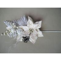 Quality White Bloom  Silk imitationArtificial Decorative Flowers  for gifts wholesale